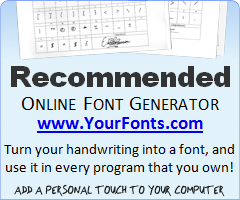yourfonts